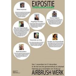 Expositie Airbrush Lelystad