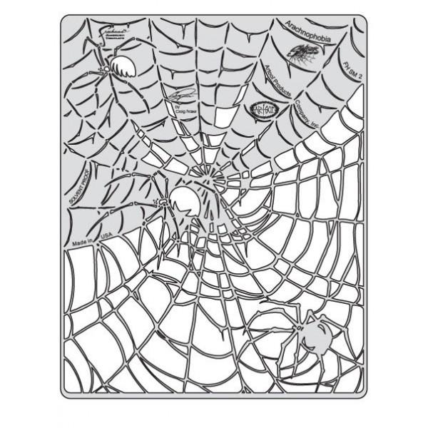 Sjabloon Spider Master Arachnophobia