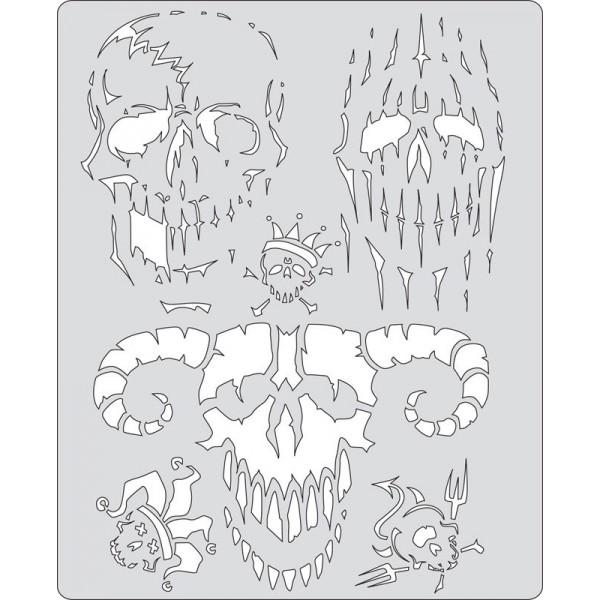 Sjabloon Curse Of Skullmaster -2
