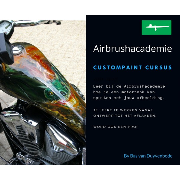 Airbrush cursus custompainting Lelystad
