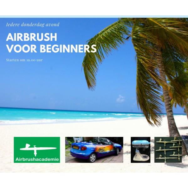 Airbrush zaterdag Beginners cursus
