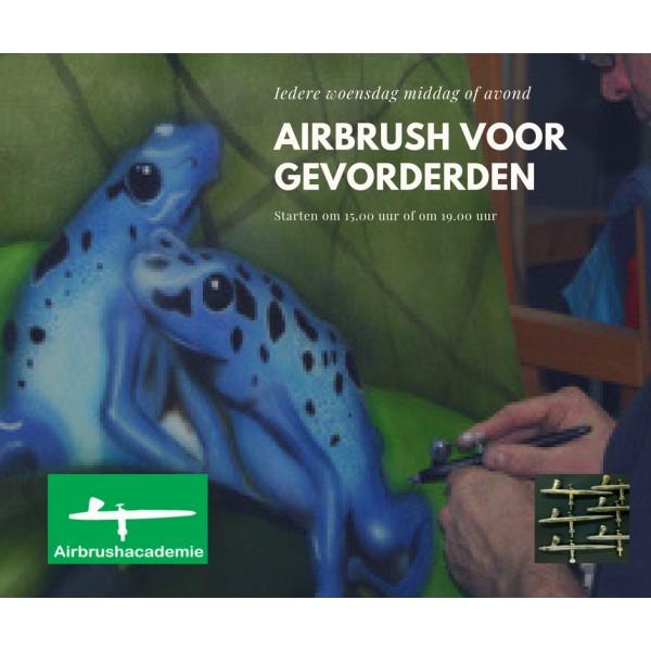 Airbrush Woensdag-avond Gevorderden cursus Lelystad