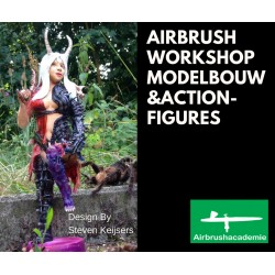 Airbrush workshop modelbouw 2018