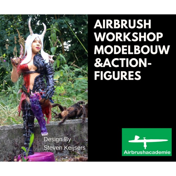 Airbrush workshop modelbouw