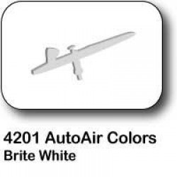 AutoAir Colors 4201 Brite White Semi Opaque