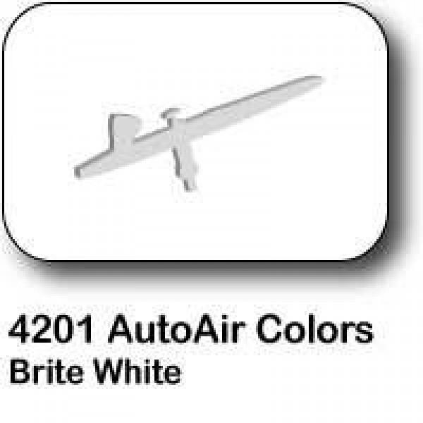 AutoAir Colors 4201 Brite White Semi Opaque