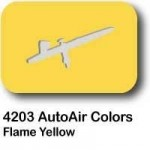 AutoAir Colors 4203 Flame Yellow Semi Opaque