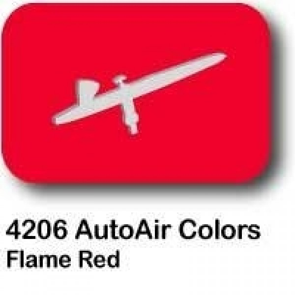 AutoAir Colors 4206 Flame Red Semi Opaque